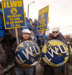 Standoff At Grain Terminals Ilwu At Work But Without