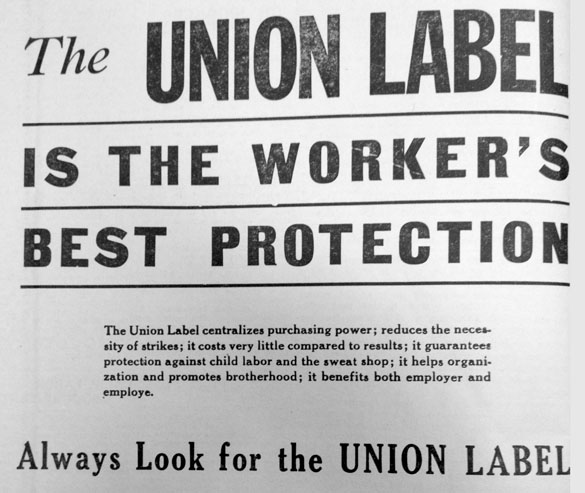 Union label: The ultimate hard-to-find gift | nwLaborPress